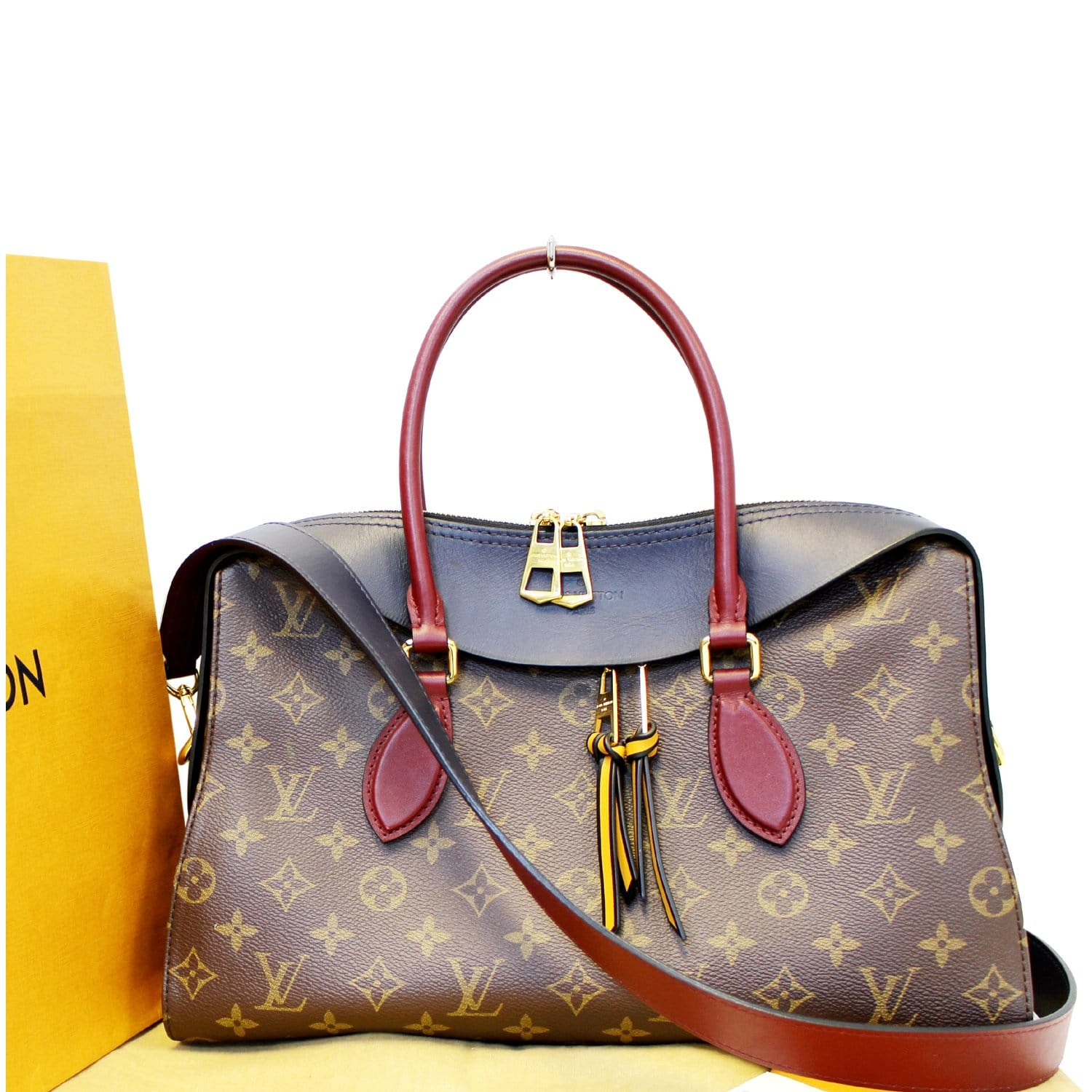 3159858b6521 LOUIS VUITTON Tuileries Monogram Canvas Tote Shoulder Bag-US