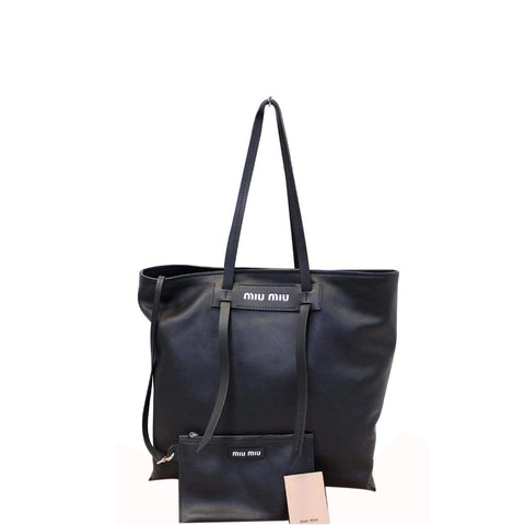 MIU MIU Patch Medium Grace Lux Tote Shoulder Bag - Last Call