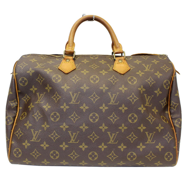 Louis Vuitton Speedy 35 - Lv Monogram - Lv Satchel Bag - lv strap