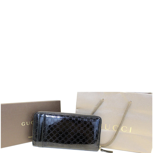 Gucci Wallet Nice Microguccissima Patent Leather for sale