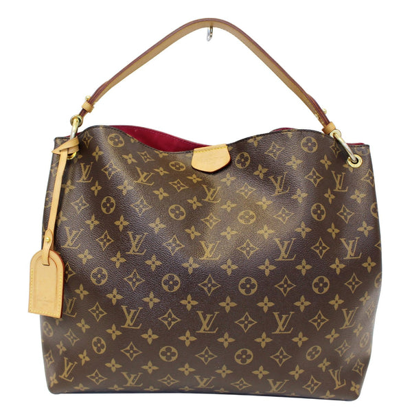 Louis Vuitton Graceful MM - Lv Monogram Canvas Shoulder Bag
