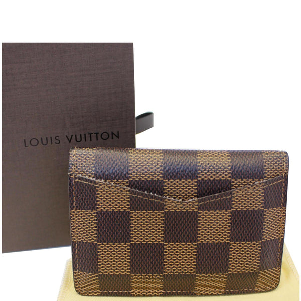 Louis Vuitton Card Case - Pocket Organizer Damier Card Holder  leather
