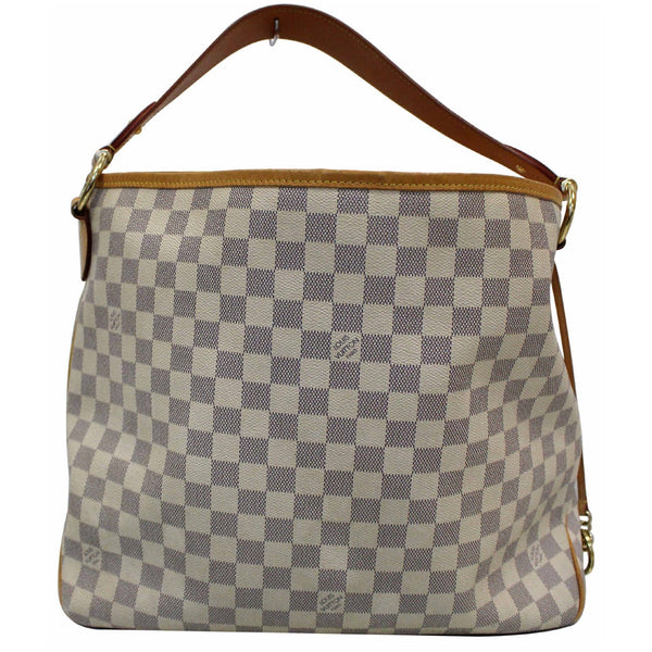 Louis Vuitton Delightful PM Damier Azur Hobo Bag strap