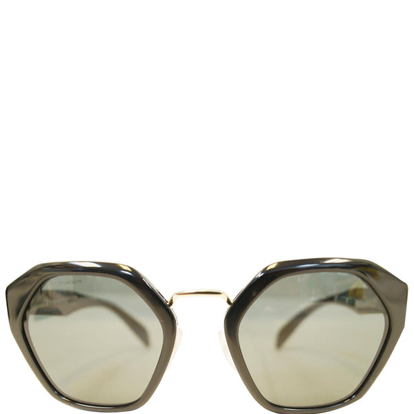 Prada Black Sunglasses Women's - Front Zoomed In View