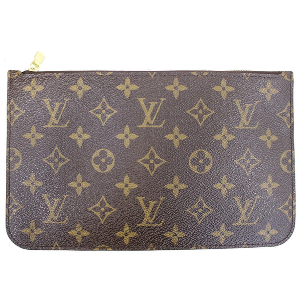 Louis Vuitton Pochette Wristlet Neverfull MM Pouch - back view