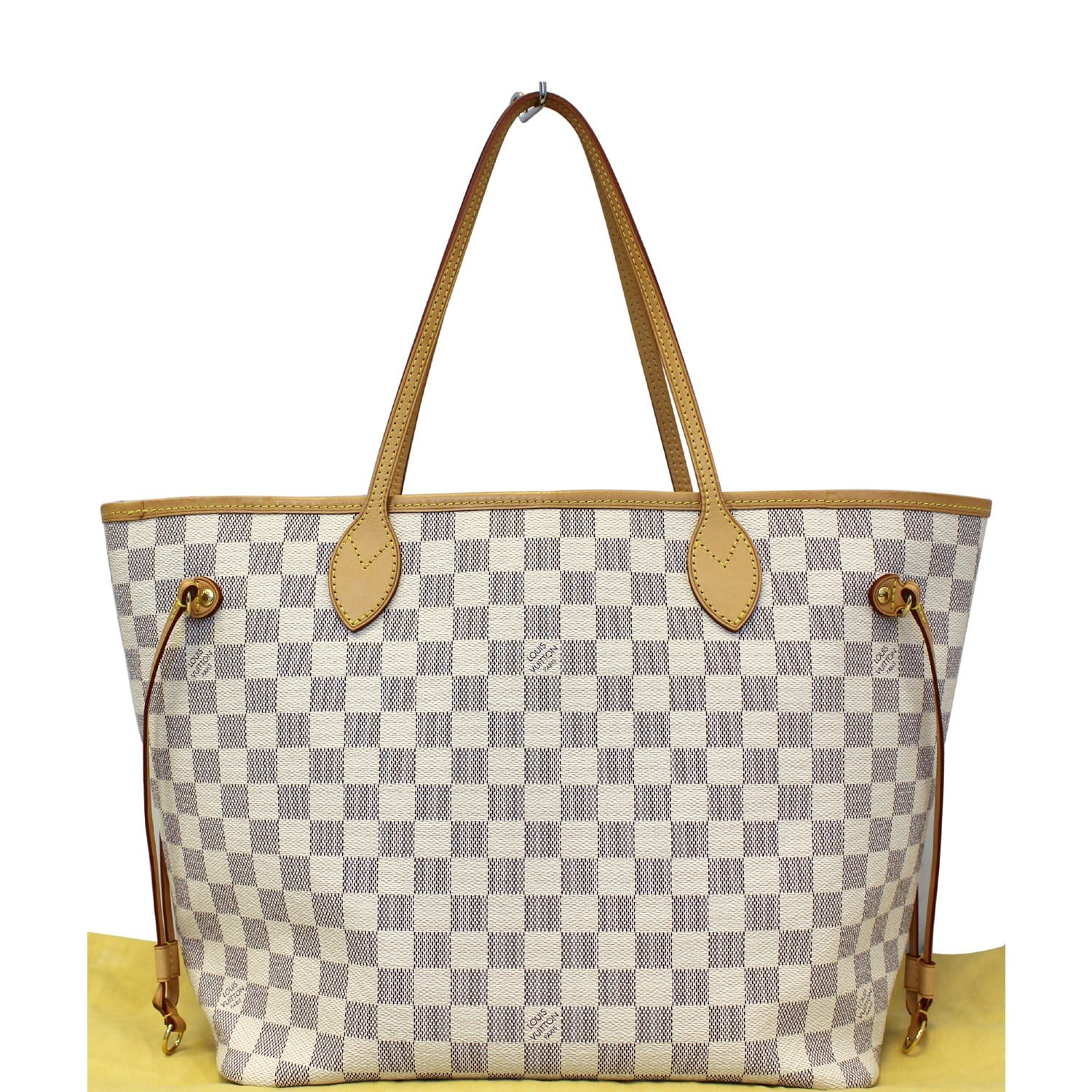 cf0078c6eb98 LOUIS VUITTON Neverfull MM Damier Azur Tote Shoulder Bag-US