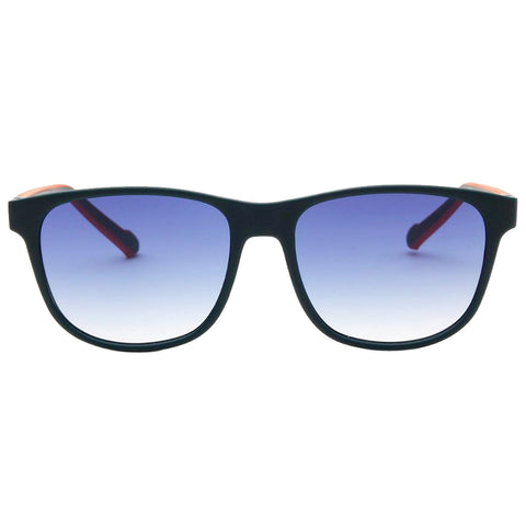 ADIDAS AOR031 CM1400 021.000 Square Men Dark Blue Sunglasses Blue Lens