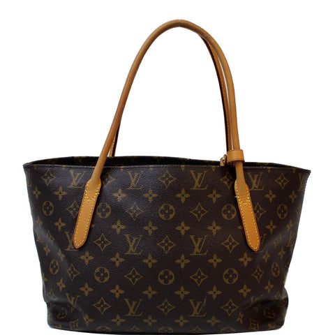 LOUIS VUITTON Raspail PM Monogram Canvas Shoulder Bag Brown