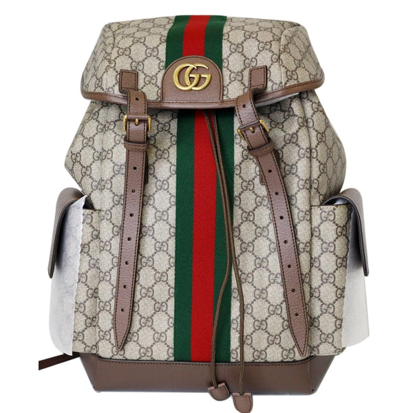 Gucci Ophidia GG Medium Supreme Canvas Backpack Bag