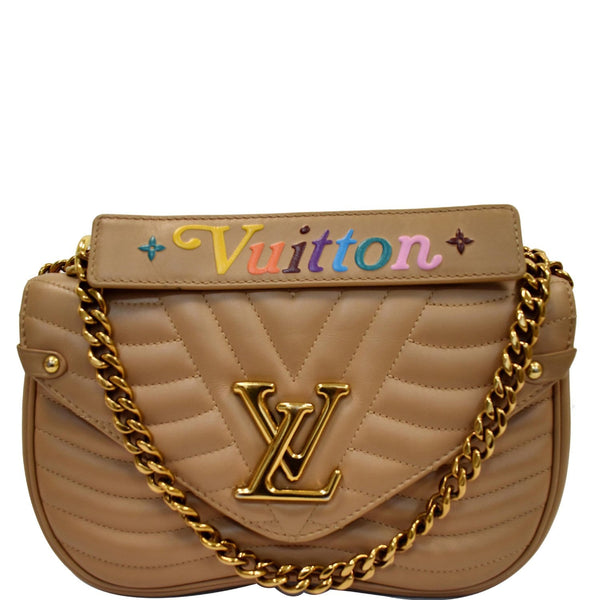 Louis Vuitton New Wave Chain MM Calfskin Leather Bag