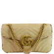 Gucci GG Marmont Raffia Small Shoulder Bag Code 443497