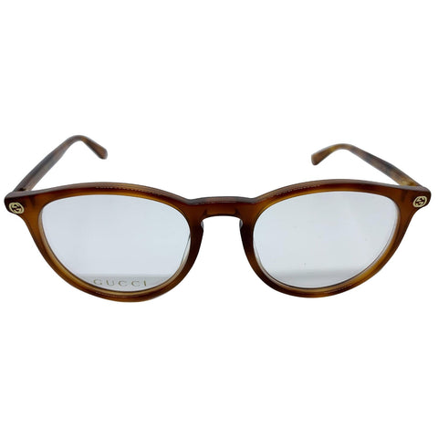 Gucci GG0027O 003 Eyeglasses Demo Customisable Lens