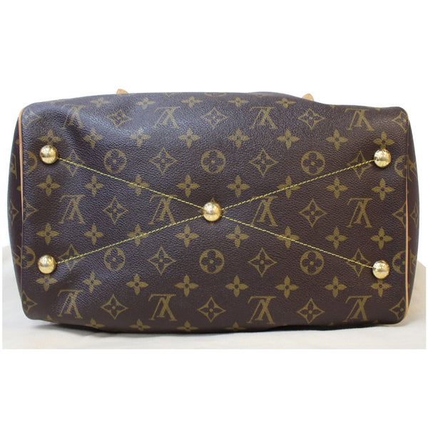 Brass studs Louis Vuitton Tivoli GM Shoulder Bag