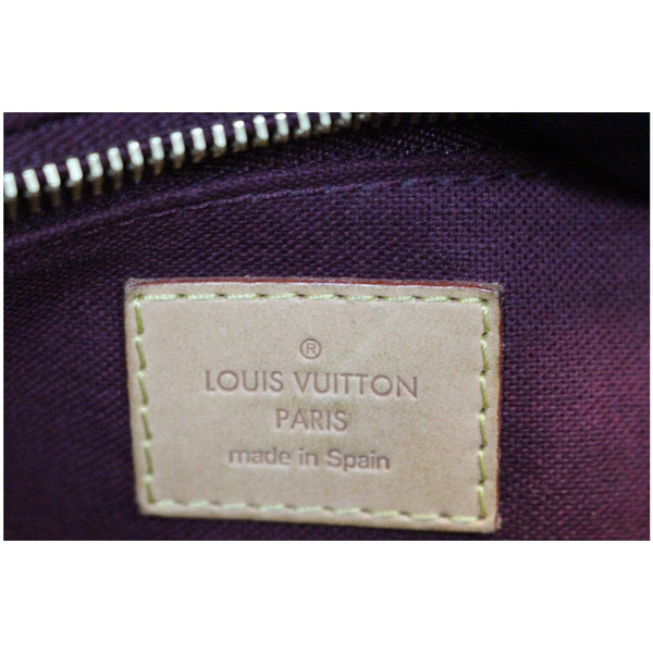 Louis Vuitton Monogram Canvas Raspail MM Bag tag