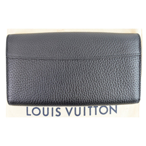 Louis Vuitton Capucines Studded Leather Pouch backside
