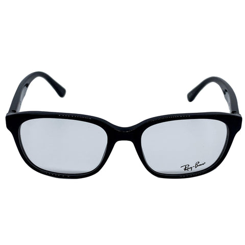 Ray-Ban RX5340 2000 Shiny Black Frame Eyeglasses Demo Lens