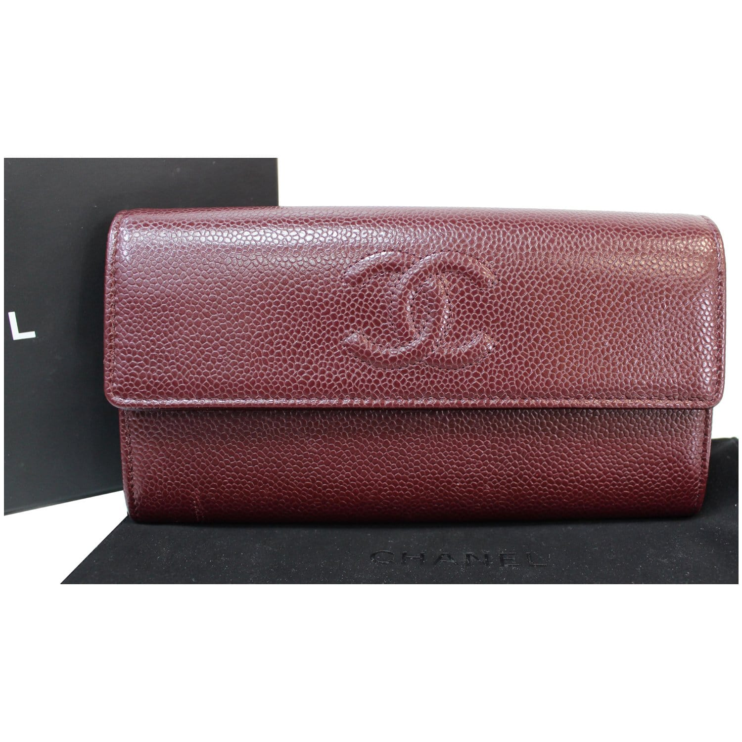 Chanel Timeless Cc Large Gusset Flap Caviar Wallet Like all our bags, the chanel wallet on chain bags offered by collector square have been assessed and authenticated. chanel