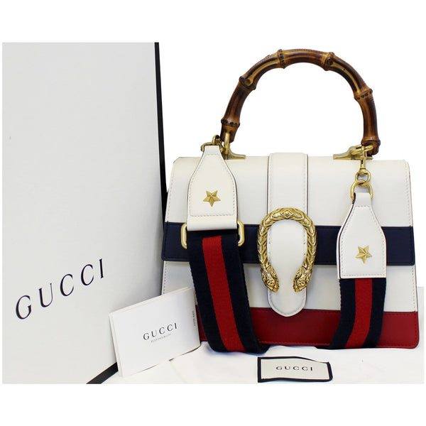 Gucci Bag Dionysus Leather Medium Top Handle - front view