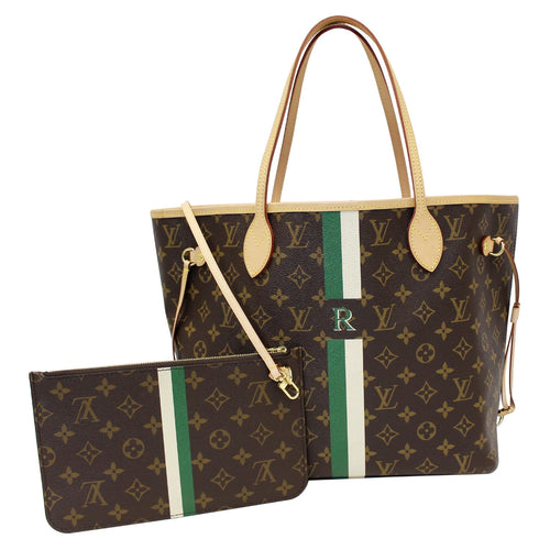 29dcdd884f68f LOUIS VUITTON Neverfull MM Mon Monogram Canvas Tote Bag