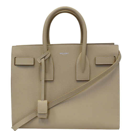 40811e5d61730 YVES SAINT LAURENT Sac De Jour Small Satchel Shoulder Bag