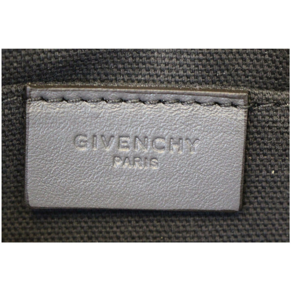 GIVENCHY Medium Antigona Croc Embossed Leather Pouch Grey - 15% OFF
