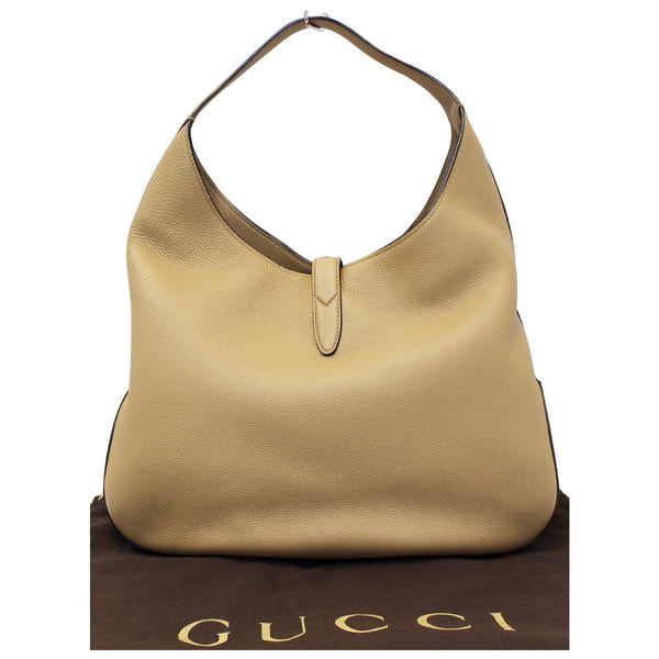 Gucci Jackie Soft Leather Hobo Bag - Gucci Shoulder bag | front view