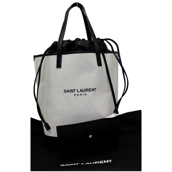 Yves Saint Laurent Teddy Drawstring Tote bag - front view