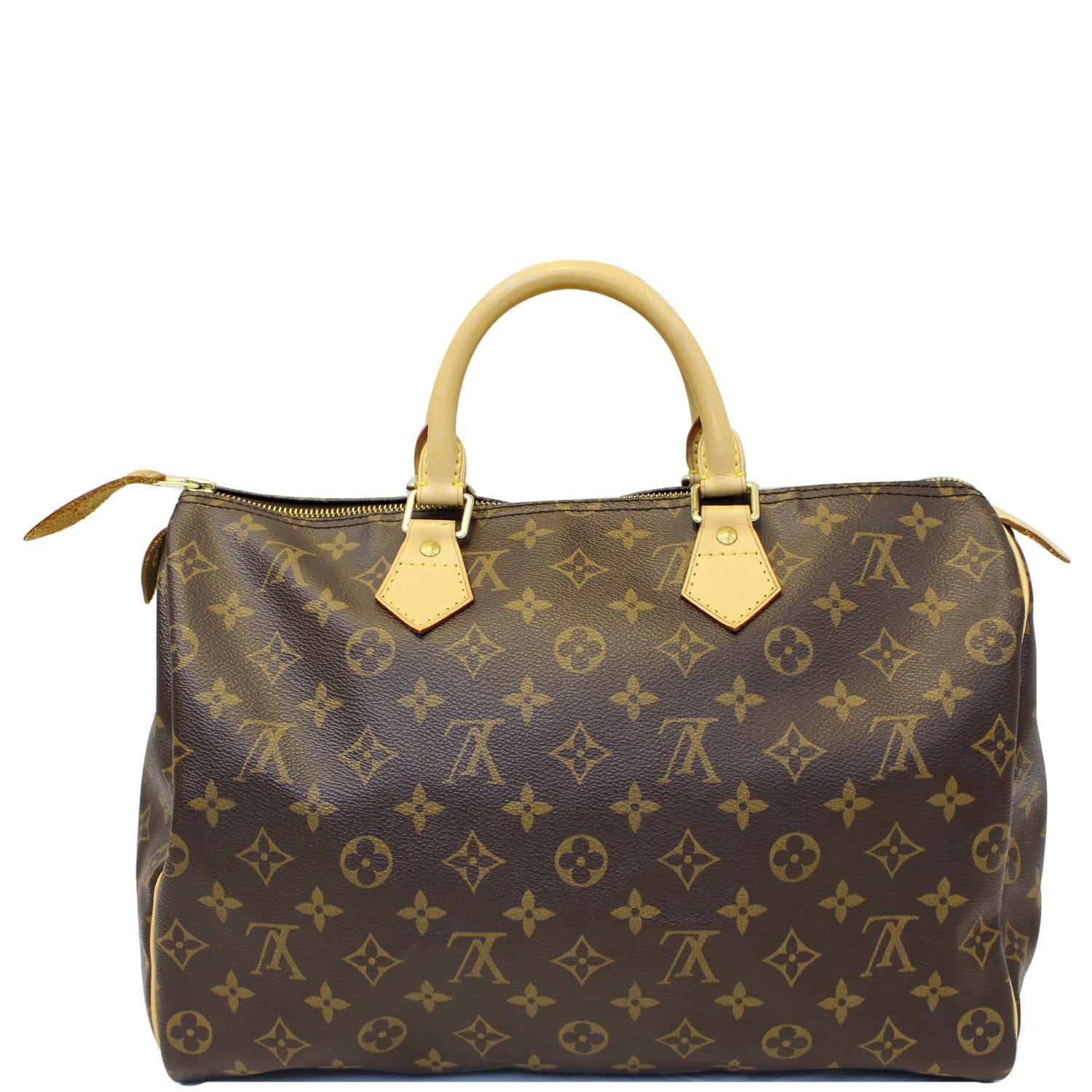 d20ed14a7135 LOUIS VUITTON Speedy 35 Monogram Canvas Satchel Bag-US