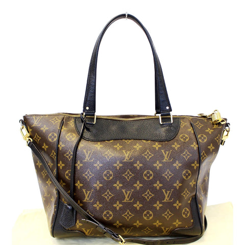 LOUIS VUITTON Estrela NM Monogram Canvas Shoulder Bag Noir Black