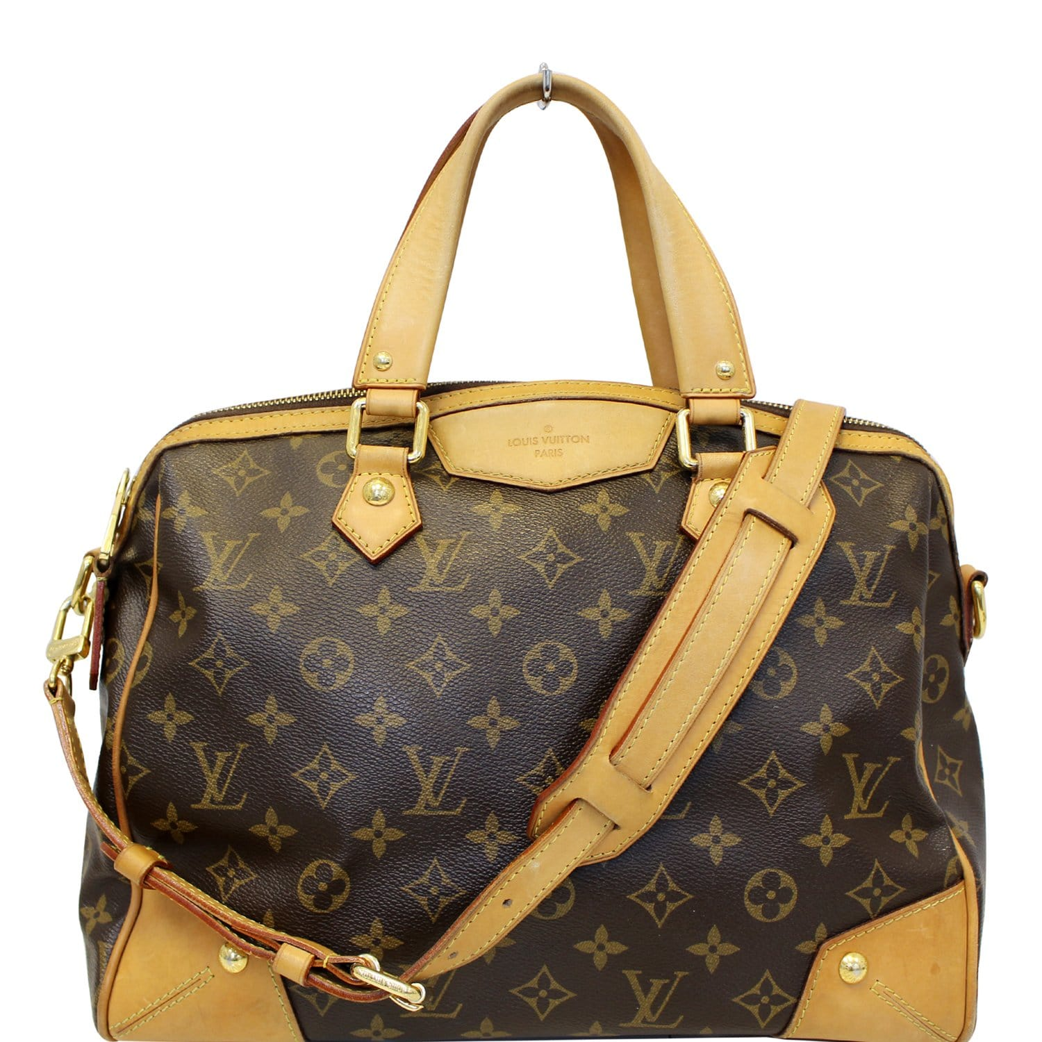 649736391e56 LOUIS VUITTON Monogram Canvas Retiro PM Brown Shoulder Bag-US