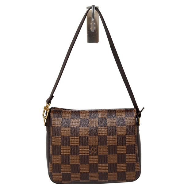 Louis Vuitton Damier Ebene Truth Makeup Pouch Bag Brown
