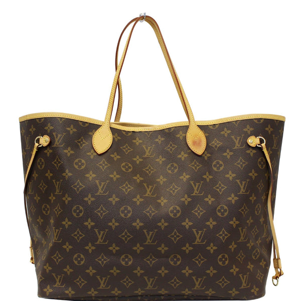 Louis Vuitton Neverfull GM Monogram Canvas Tote Bag - lv strap