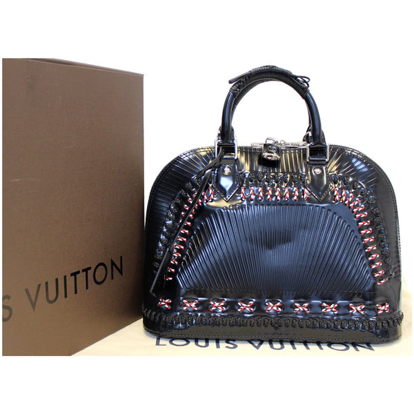 Louis Vuitton Alma PM Samourai Epi Leather Bag - Front