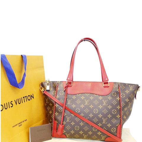 LOUIS VUITTON Estrela NM Monogram Canvas Shoulder Bag Cherry