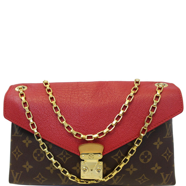 Louis Vuitton Pallas Chain Monogram Canvas Tote Bag