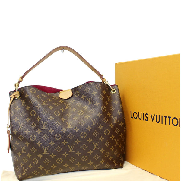 Louis Vuitton Graceful MM - Lv Monogram Shoulder Bag - authentic