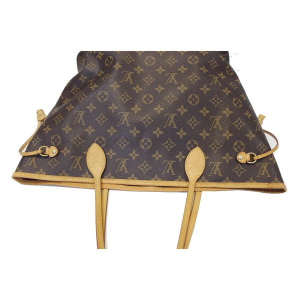 Louis Vuitton Neverfull MM - Lv Monogram Canvas Tote Bag leather