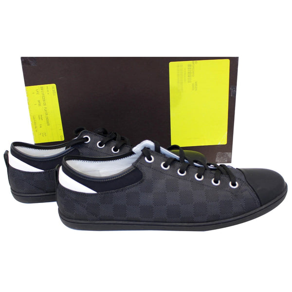 LOUIS VUITTON Baseball Low Cut Sneakers Black US 13-US