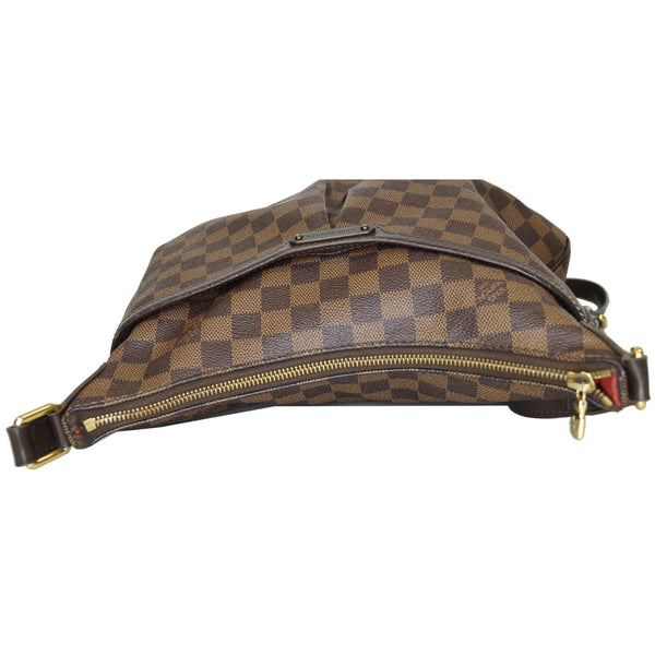 Louis Vuitton Bloomsbury PM Damier Ebene Crossbody Bag full view