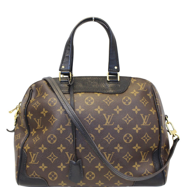 LOUIS VUITTON Retiro NM Monogram Canvas Shoulder Bag Noir