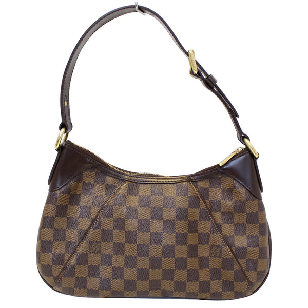 Louis Vuitton Thames PM Damier Ebne Bag Front Look