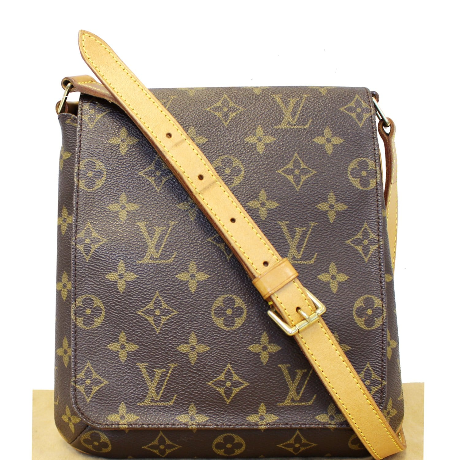 5367e108a5c90 LOUIS VUITTON Musette Salsa Monogram Canvas Short Strap Shoulder Bag ...