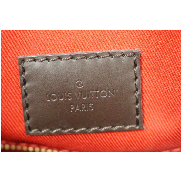 Louis Vuitton Graceful PM Damier Ebene Shoulder Bag, Lv logo