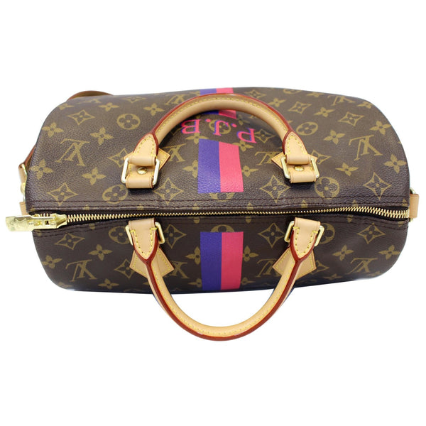 LV Speedy 30 Mon Bandouliere Monogram Canvas Bag - Strap view