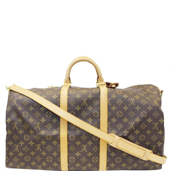 Louis Vuitton Keepall 55 Bandouliere Canvas Travel Bag