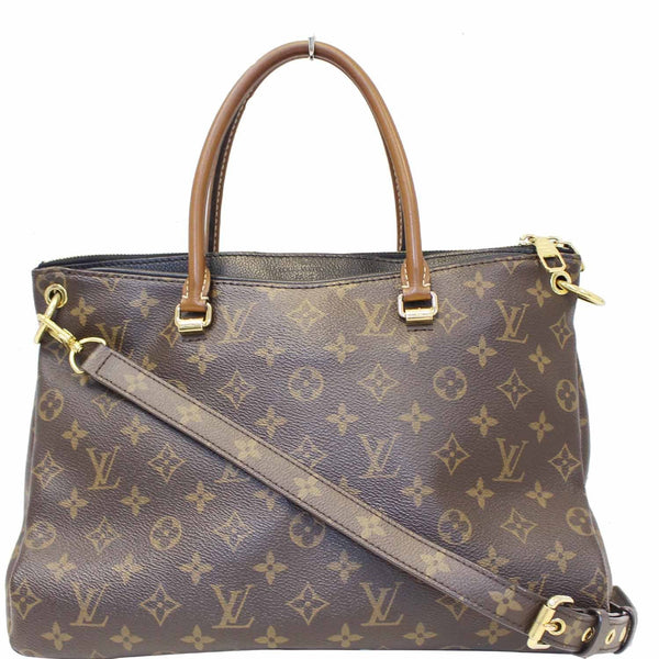 LOUIS VUITTON Pallas Monogram Canvas 2Way Shoulder Bag Brown-US