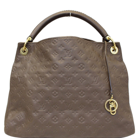 LOUIS VUITTON Artsy MM Empreinte Leather Shoulder Bag Ombre