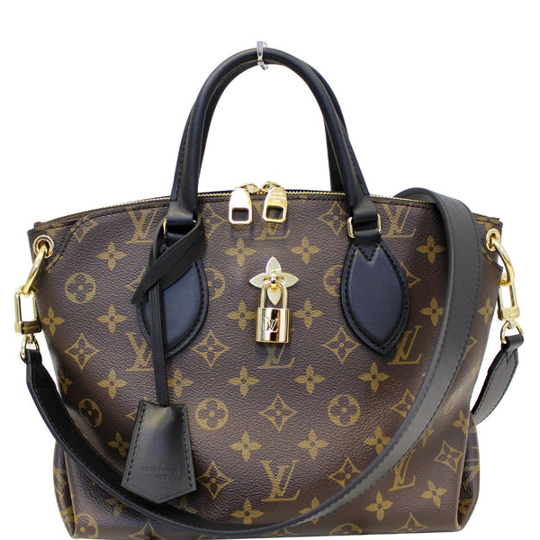 Louis Vuitton Flower Tote Zipped PM Monogram Shoulder Bag
