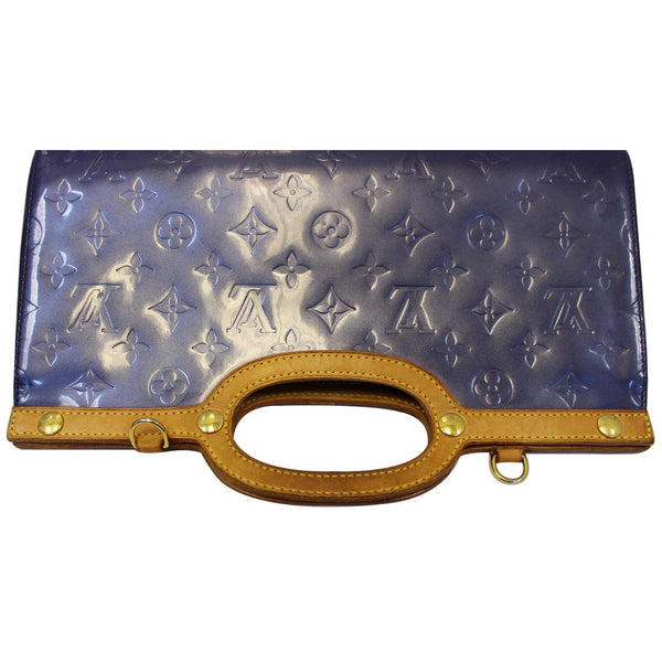 Louis Vuitton Roxbury Clutch Monogram Vernis  - bottom view