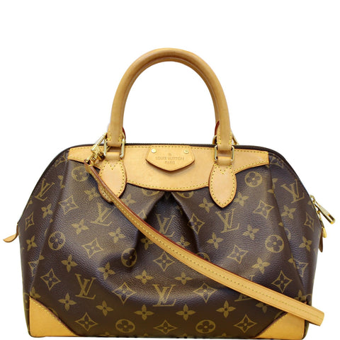 LOUIS VUITTON Segur Monogram Canvas Shoulder bag Brown
